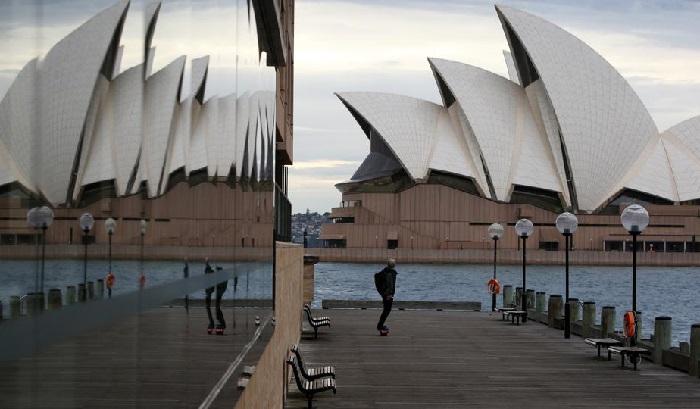 Sydney Lockdown Akibat Lonjakan Kasus COVID-19