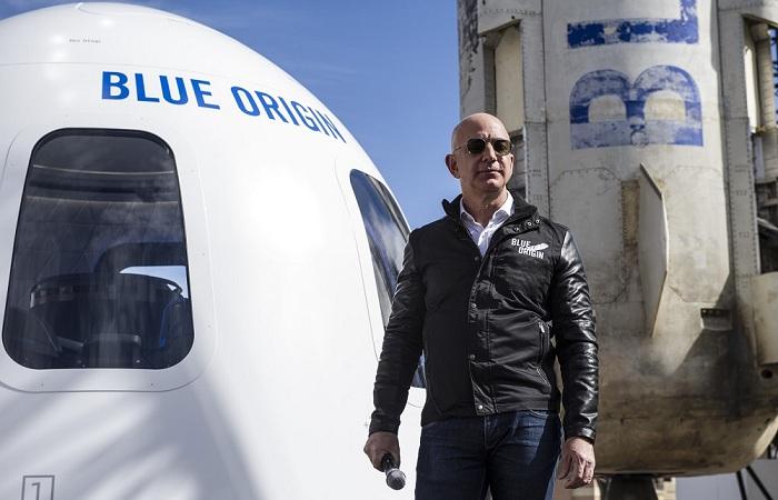 Jeff Bezos Blue Origin