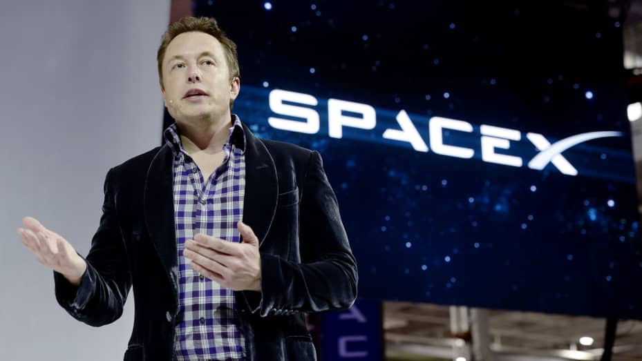 Elon Musk dan Space X