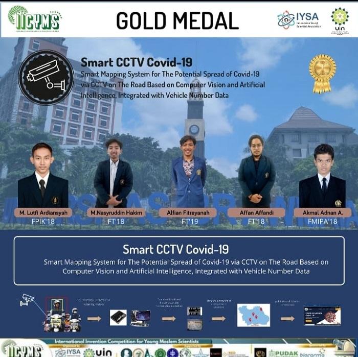 Mendapat Gold Medal Awards
