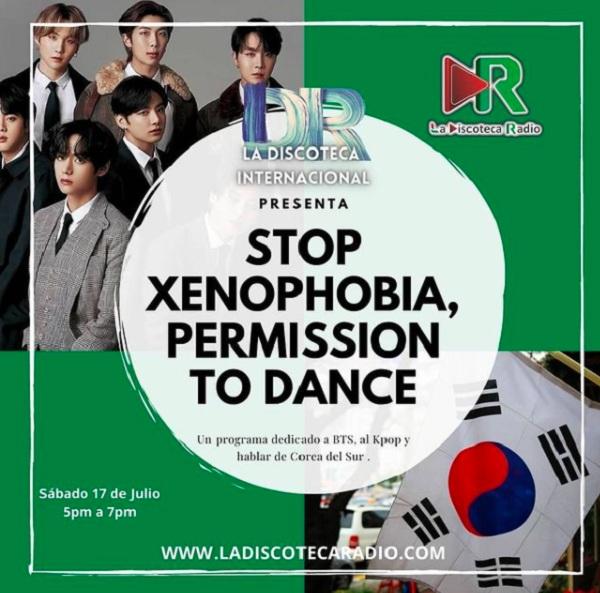 Pesan stop rasisme dari pendukung BTS