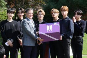 BTS Ditunjuk Sebagai Utusan Khusus Presiden Korea Selatan