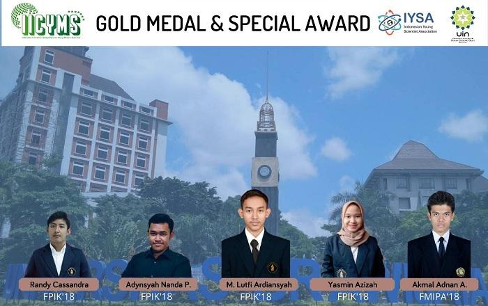 Ciptakan SOHIN, Mahasiswa UB Raih Medali Emas di IICYMS