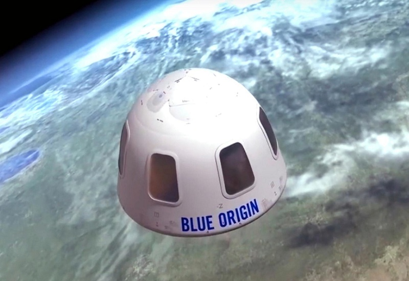 Blue Origin di angkasa