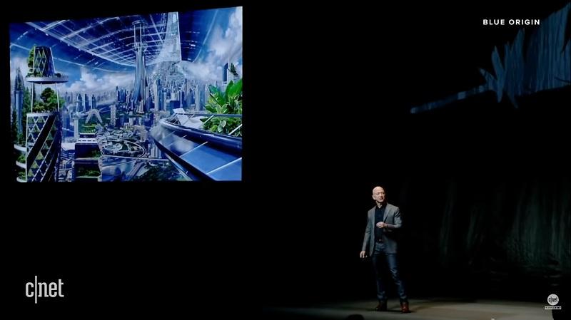 Jeff Besoz jelaskan tentang misi luar angkasa