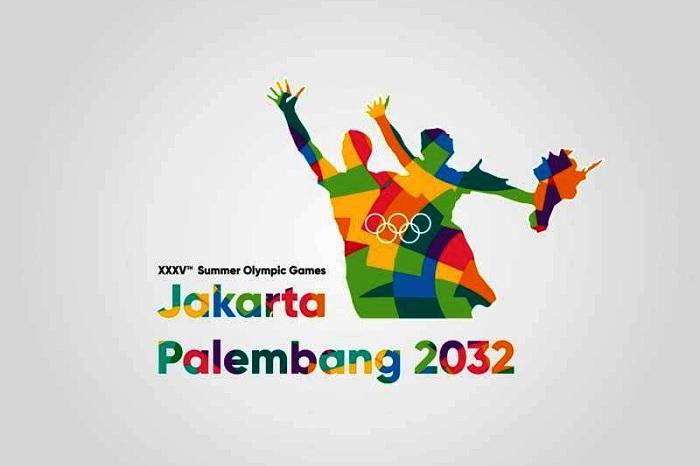 Logo Indonesia untuk Olimpiade 2032