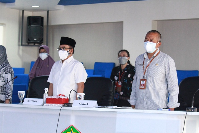 Walikota dan Sekda Kota Malang