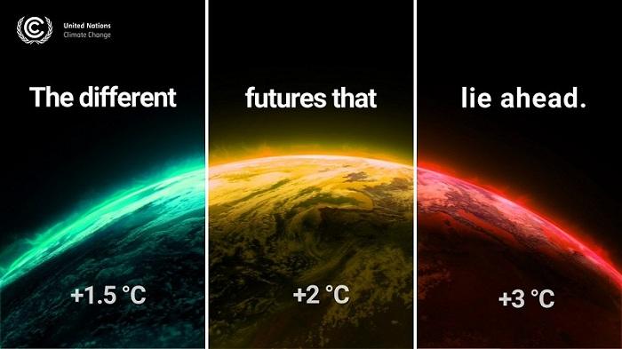 Peningkatan suhu bumi