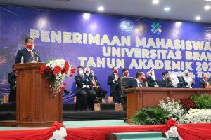 Universitas Brawijaya Buka Kegiatan PKKMB di Hari Kemerdekaan RI