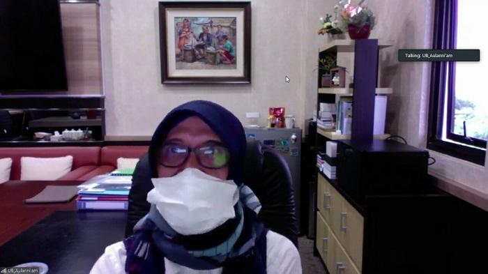 Wakil Rektor Bidang Akademik, Prof. Dr. drh. Aulanni'am, DES