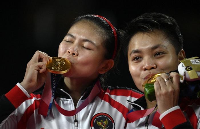 Greysia/Apriyani Jaga Tradisi Emas Bulutangkis di Olimpiade
