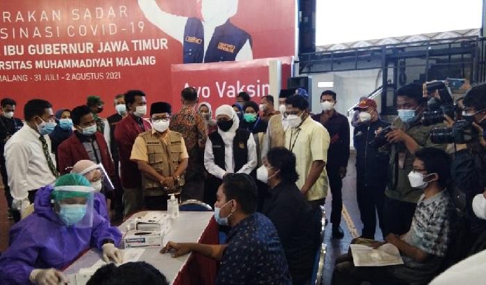 Gubernur Jatim Apresiasi RS UMM Dalam Pelayanan Pasien Covid