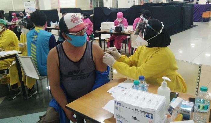 Gandeng Matos, Kodim 0833 Kota Malang Gelar Serbuan Vaksinasi Dosis Dua