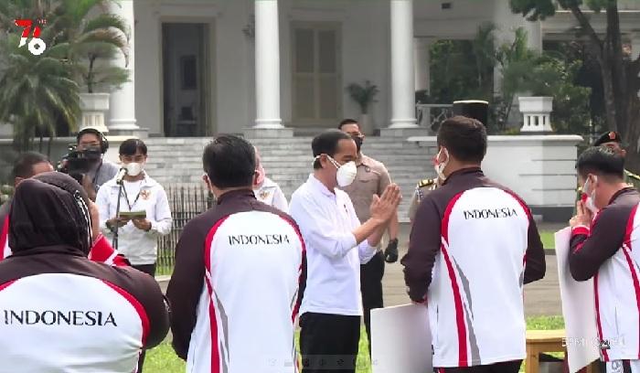 Presiden Beri Penghargaan Atlet Indonesia di Olimpiade Tokyo 2020