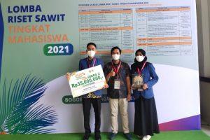 Ciptakan Alternatif Material Baterai, Mahasiswa ITS Juarai Riset Sawit