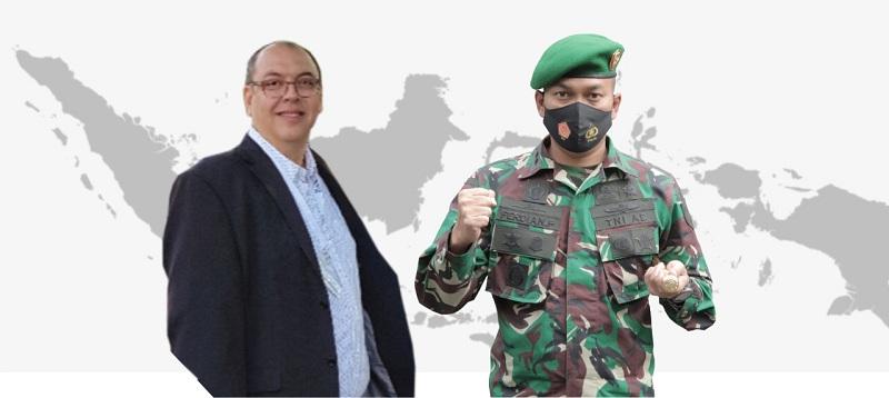 Ketua STIE Malangkucecwara dan Dandim 0833 Kota Malang