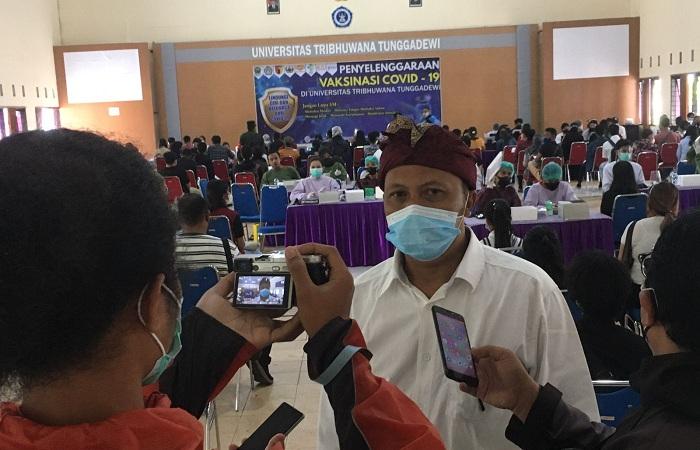 Dr Agung Suprojo, Koordinator Vaksinasi UNITRI