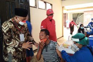 DPC PDI Perjuangan Kota Malang Gelar Vaksinasi Massal