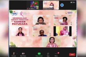Charm Extra Maxi Pink Ribbon Dukung Gerakan SADARI Yayasan Kanker Payudara Indonesia