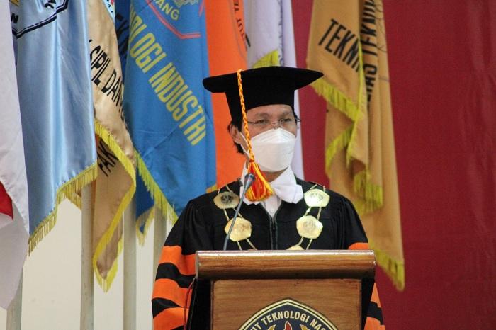 Rektor ITN berpesan kepada wisudawan